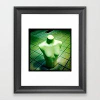 Torso Framed Art Print