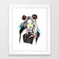 Griz Framed Art Print