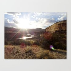 Rustler's Sunset Canvas Print