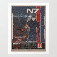 Mass Effect 3 Art Print