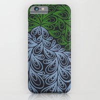 Light Green And Gray Dro… iPhone 6 Slim Case