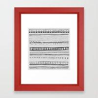 Pattern #1 Framed Art Print