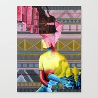 Humans Canvas Print