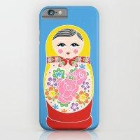 iPhone & iPod Case featuring Matryoshka by Jade Boylan
