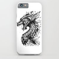 iPhone & iPod Case featuring Dragon's Outrage by René Campbell