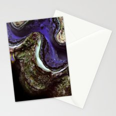 Blue Clam with Nudibranch Stationery Cards