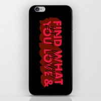 Let it kill you. iPhone & iPod Skin