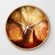 Autumn Song.. Wall Clock