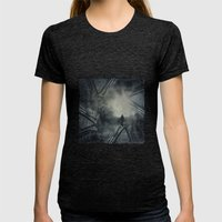 Convergence Womens Fitted Tee Tri-Black SMALL