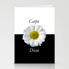 Yin Yang Carpe Diem Stationery Cards