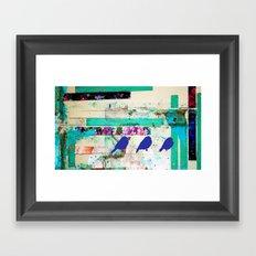I'm a bird,your a bird. Framed Art Print