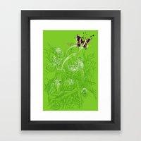 Hidden Chameleon Framed Art Print
