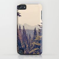 iPod Touch Cases featuring Mountains through the Trees by Kurt Rahn