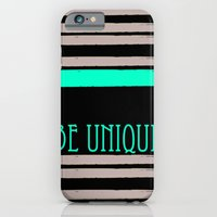 iPhone & iPod Case featuring Be Unique by Kinga David