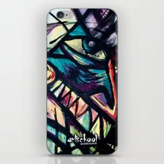 artist series skate graphic iPhone & iPod Skin