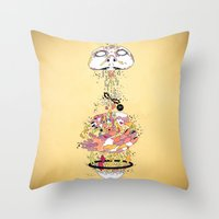 To Live Throw Pillow