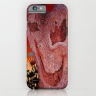 iPhone & iPod Case featuring A Spook In The Thistles by Vikki Salmela