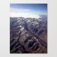 Beyond Andes Canvas Print
