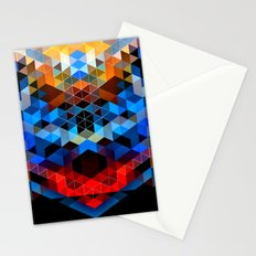 Red Beast Crowned in Blue Stationery Cards
