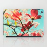 Spring Dogwood Blossoms iPad Case