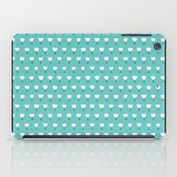 Spring Tulips - Blue iPad Case