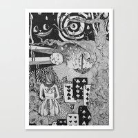 Alice's Dreams Canvas Print