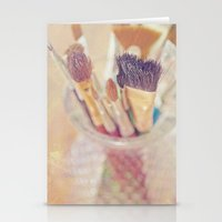 If I could say it in words, there would be no reason to paint... Stationery Cards