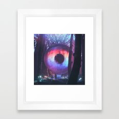 FOREST ZYGOTE (3.24.16) Framed Art Print