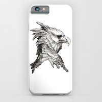 iPhone & iPod Case featuring Hawk profile  by Art is Vast
