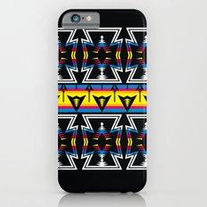 Large Native America inspired blanket print iPhone 6 Slim Case