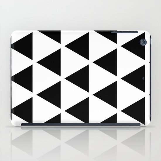Sleyer Black on White Pattern iPad Case