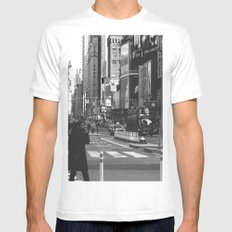 Let my imagination go (B&W) Mens Fitted Tee White SMALL