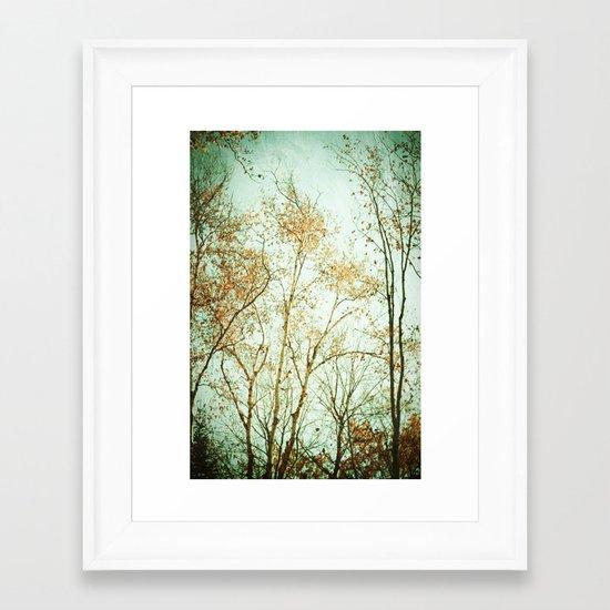 Overhead Framed Art Print