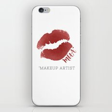 MUA *Makeup Artist iPhone & iPod Skin