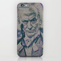 iPhone Cases featuring William Hartnell. The 1st Doctor Who by Robotic Ewe