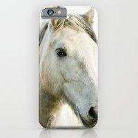 White Horse Portrait iPhone 6 Slim Case