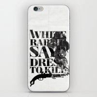 Dress To Kill iPhone & iPod Skin
