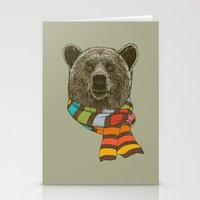 Winter Bear Stationery Cards