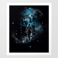 Time Traveller Art Print