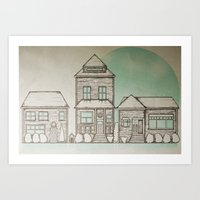 Neighborhood Art Print