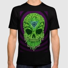 Toxxik Skull Mens Fitted Tee Black SMALL