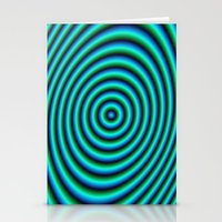 Turquoise Rings Stationery Cards