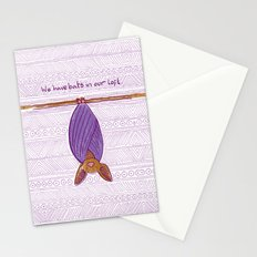 We Have Bats in Our Loft Stationery Cards