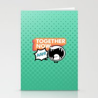 Together Now... AAH! Stationery Cards