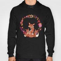 FOX & FLOWERS Hoody