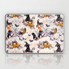 Halloween Witch #2 Laptop & iPad Skin