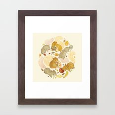 Things Squirrels Probabl… Framed Art Print