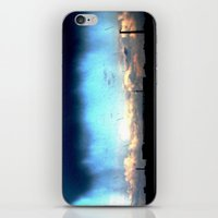 Cave from clouds.  iPhone & iPod Skin