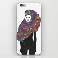 Fashion Illustration 2  iPhone & iPod Skin
