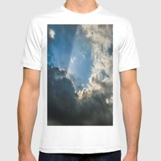 Let Your Name Be Sanctified White Mens Fitted Tee SMALL